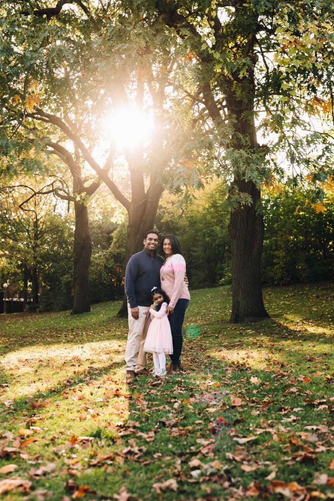 Short Outdoor Family Photography